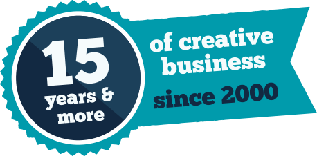 15 years & more of creative business since 2000